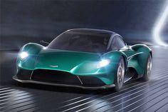 Ginebra Aston Martin Vanquish Vision Concept, con Ferrari y Lamborghini en la mira - Autologia Ferrari, Maserati, Bugatti, Aston Martin Vanquish, Aston Martin One 77, Mercedes Amg, Toyota Supra, Mazda, Motor V12