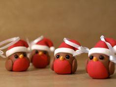 Robin Christmas Decorations
