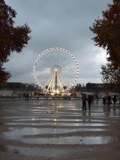 Le Jardin des Tuileries sous la pluie http://www.pariscotejardin.fr/2014/11/le-jardin-des-tuileries-sous-la-pluie/