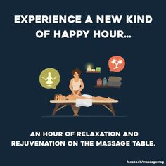 There should always be time for a massage.
