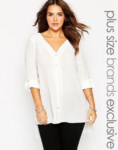 New Look Inspire Collarless Shirt