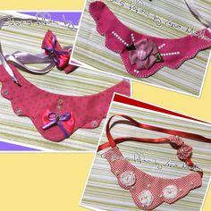 Colarzinhos Pet https://www.facebook.com/pages/Coisas-fofas-by-Lena-Mattar/495130863884535