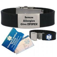 If You Have A Severe Food Allergy Should Wear Medical Alert Bracelet