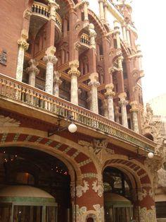 Palau de la Musica . Barcelona
