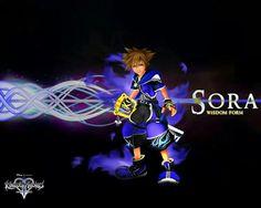 Sora wisdom form kingdom hearts