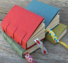 "Today I wanted to direct you to Rhonda's blog ""My handbound books"". As the title suggests Rhonda makes some beautiful handbound books but also has some tutorials to share. Go and check it out here."
