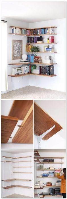 Wonderful 99 Bookshelf Ideas To Make Your Small Apartment Look Classy