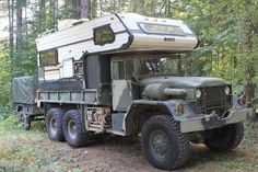 Viewing a thread - Ultimate off road camping rig ? Off Road Rv, Off Road Camping, Truck Camping, Cool Trucks, Big Trucks, Casas Trailer, Offroad, Tactical Truck, M109