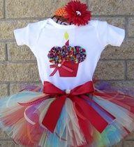 first 1st bday set, 3D Cupcake Shirt, Birthday Tutu outfit, birthday outfit set, 1st birthday outfit, 1st 2nd 3rd 4th 5th tutu, 12 23 2t 3t 4t 5t tutu, princess dress up, baby girl party time, toddler party tutu, 3D Cupcake onesie, custom handmade tutu se