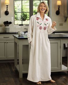 Looking for chenille robes? Shop National for our Chenille Zip Front Robe. This zip robe will keep you comfy and warm. It's the perfect robe with zipper! Lacy Bra, Muumuu, Chenille Fabric, House Dress, Easy Wear, Seersucker, Lounge Wear, 3 D, Lingerie
