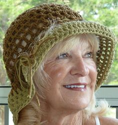 928b2be5c60fd Cotton brimmed hat   women s hiking hat   summer sun hat   handmade crochet  hat