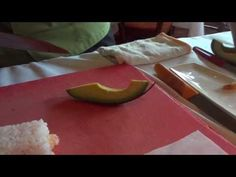 Roy's: Ebi Sushi Roll - YouTube