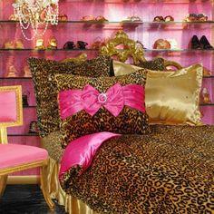 63 Best Home: Bedroom Leopard for Jailyn images | Leopard ...