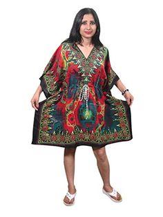 Mogul Kaftan Dress Ethnic Printed Short Dress Summer Caftan Mogul Interior http://www.amazon.ca/dp/B013B7YBB2/ref=cm_sw_r_pi_dp_rTDSwb1T2NE61