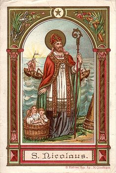 St. Nicholas Center ::: Germany Holy Card