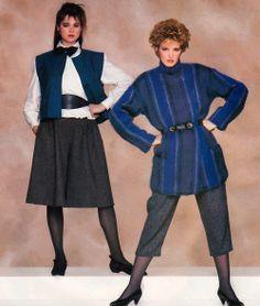 Paul Amato for Vogue Patterns magazine, September/October 1982.