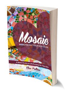 Mosaic . . . a brand new bible study for teen girls! Come check it out!