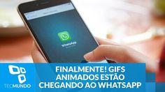 Finalmente! GIFs animados estão chegando ao WhatsApp - YouTube
