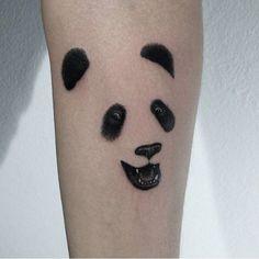 Simple Panda Tattoo | Best Tattoo Ideas Gallery