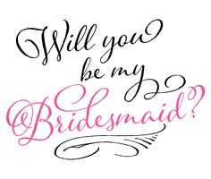 A fun and creative bridesmaid gift, you'll show your creativity when you pop the question and ask the girls to be your bridesmaids! Will You Be My Bridesmaid Gifts, Bridesmaid Gift Bags, Lillian Rose, Bridesmaids And Groomsmen, Event Planning, This Or That Questions, Things To Come, Clip Art, How To Plan