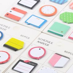 $0.99 - Decoration N Times Sticker Marker Sticker Paper Sticker Sticky Notes Memo Pad #ebay #Home & Garden
