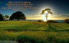 PSALM 97;11;12