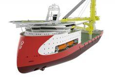 ULSTEIN HX104 heavy lift vessel design