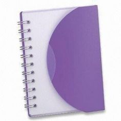 13 x 185cm Notebook with PP Cover and 1C Printing