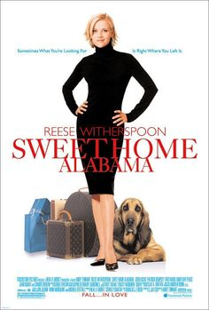 Sweet Home Alabama , starring Reese Witherspoon, Patrick Dempsey, Josh Lucas, Candice Bergen. A young woman with a Southern background runs away from her husband in Alabama and reinvents herself as a New York socialite. See Movie, Movie List, Movie Tv, Patrick Dempsey, High Society, La Revanche D'une Blonde, Sweet Home Alabama Movie, Alabama Baby, Romantic Movies