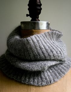 Lauras Loop: Salt and PepperCowl - Purl Soho - Knitting Crochet Sewing Embroidery Crafts Patterns and Ideas!