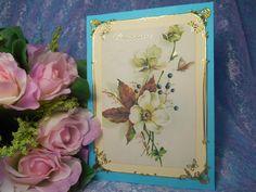 Приглашение ручной работы в винтажном стиле для свадьбы в бирюзовом цвете. Цена: 72 руб. за штуку. #свадьба #приглашения #ручнаяработа #декор #винтаж #бирюзовый #soprunstudio