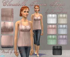 Xandher's Claudelle Tunic Top Collection