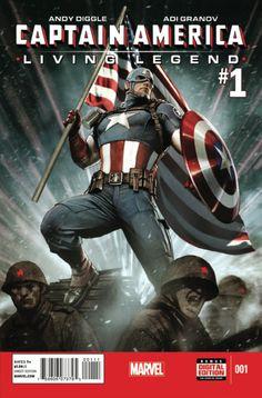 Captain America: Living Legend # 1 by Adi Granov