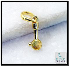 plain Gold plated Fashion pendant from Riyo Gems http://www.riyogems.com