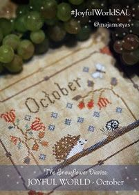 The Snowflower Diaries: JOYFUL WORLD - OCTOBER PATTERN