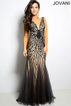 Sleeveless Mermaid Designer Prom Dress 22495