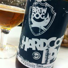 Brew Dog Hardcore IPA - made in #Scotland, but enjoyed everywhere!