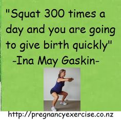 Pregnancy Exercise: If you are not squatting during your pregnancy then you need to start now. 300 may seem like a lot but by the time you have done your exercises picked up a million things off the floor you will be surprised at how many squats you actually do! Just make sure your form is right! #Pregnancyexercise #Pregnancy
