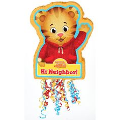 Check out Daniel Tiger's Neighborhood Pull-String Pinata from Birthday In A Box