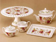 ❤️Royal Albert China - Old Country Roses - Pierced Collection