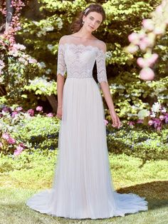 Outdoor Summer Wedding Dresses Vintage-Inspired Backes's