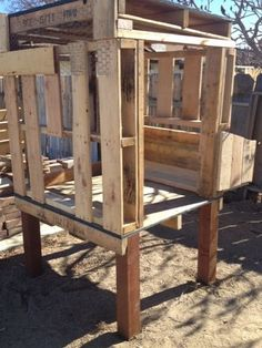 Pallet coop on BYC!