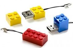 Memorias USB con figuras LEGO
