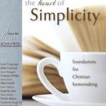 Book on Simplicity..simple living for the Christian mom and wife--life-changing