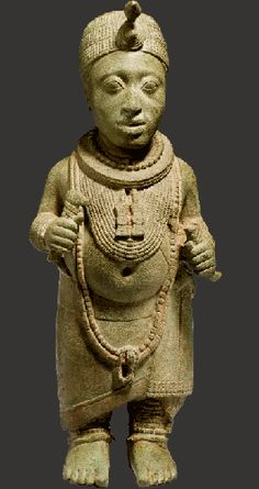 King figure. Ife, Nigeria. Early 14th century