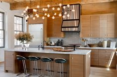 Hamptons Holiday House - Contemporary Kitchen by Rikki Snyder