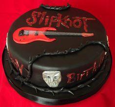 Slipknot cake #SLIPKNOT