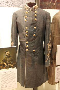 Confederate General John Bell Hood's 2nd Uniform Frock Coat