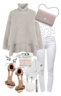 """Untitled #19658"" by florencia95 ❤ liked on Polyvore featuring J Brand, Linea Pelle, Chloé, Steve Madden, Christian Dior, Michael Kors, Forever 21 and Lonna & Lilly"