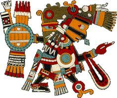 Teskatlipoka-Tezcatlipoca-na mitologia dos astecas e maias, é um dos três principais deuses.Padroeiro dos sacerdotes,os criminosos punir,senhor das estrelas,senhor dos elementos, causando terremotos.Ele é um Deus Criador,mas também o destruidor do mundo.Deus da noite e todo o material, o deus da parte norte do mundo.Ele carregava um espelho mágico Itlachiayakue(Itlachiayaque),que vê tudo o que acontece no mundo.Em sua mão direita segurando quatro setas simbolizando a punição pecados